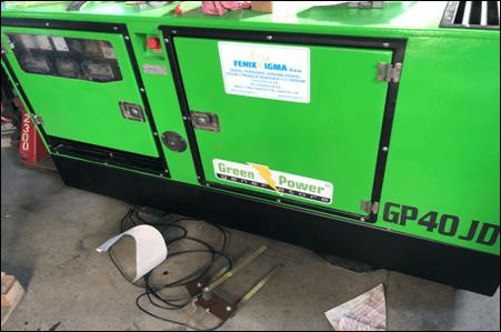 GREEN POWER GP40JD