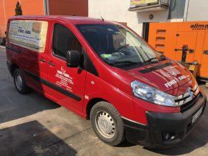 Naše novo servisno vozilo